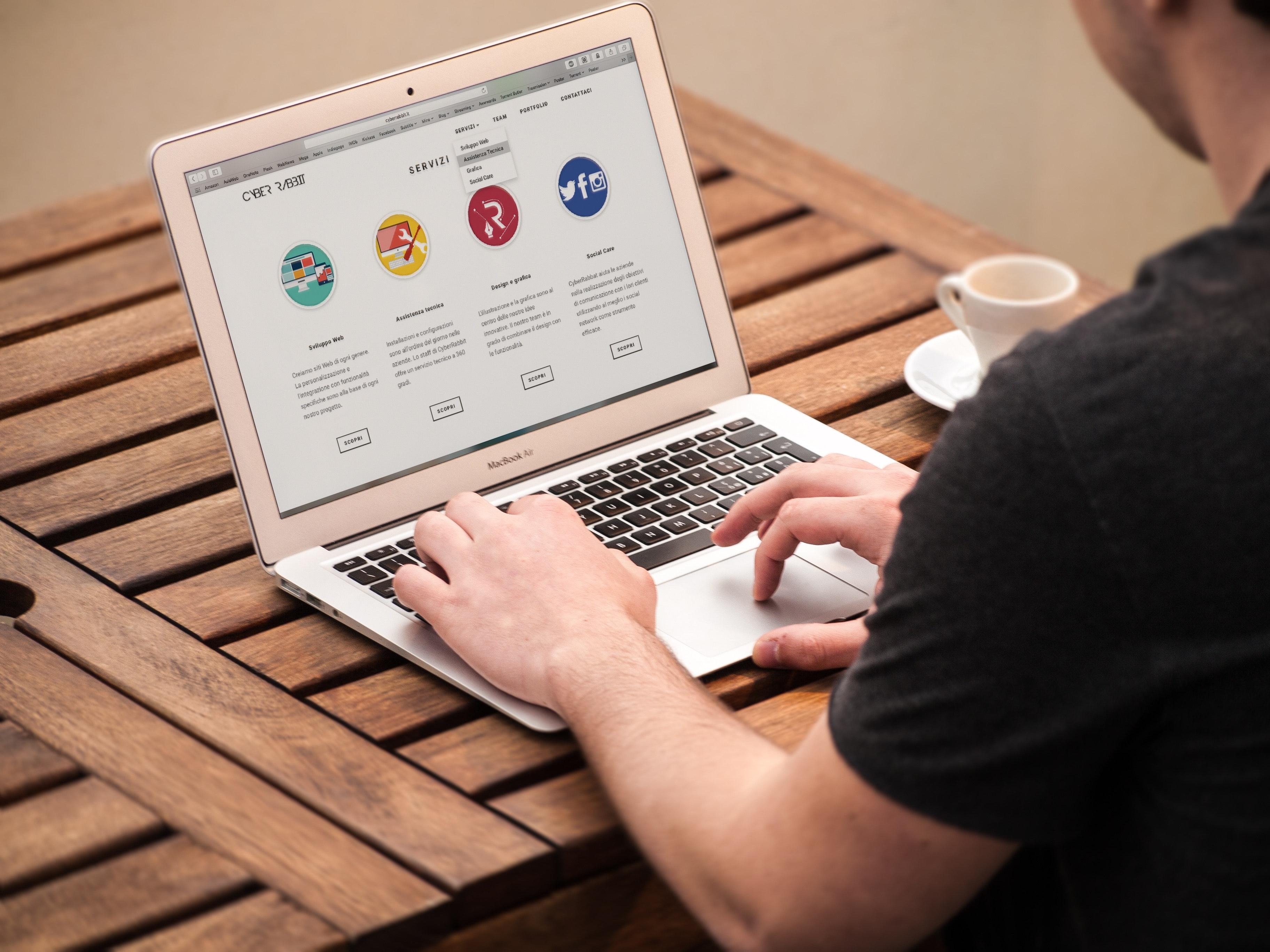 Starting Website Development